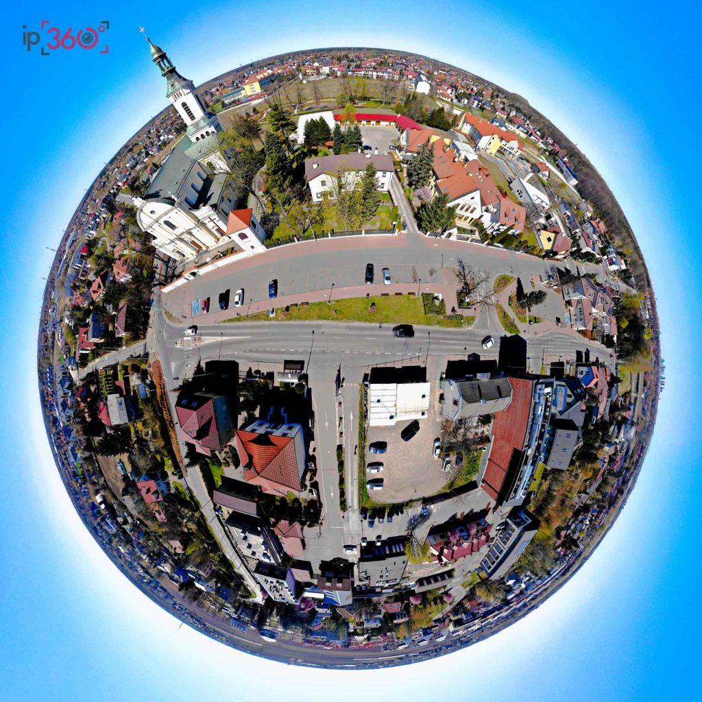 Littel Planet - jeden ze sposobów wykorzystania zdjęć 360 st